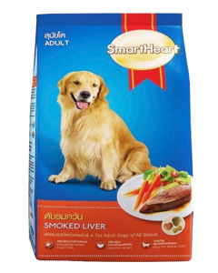 Smartheart Adult Dog Food Smoked Liver Flavour 20 Kg