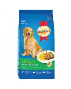 Smartheart Adult Dog Food Lamb and Rice Flavour 3 Kg