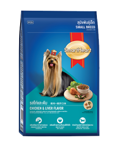 Smartheart Small Breed Dog Food Chicken and Liver Flavour 1.5 kg