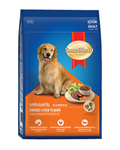 Smartheart Adult Dog Food Smoked Liver Flavour 1.5 kg