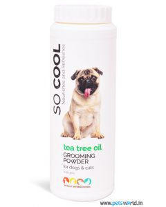 Tea Tree Oil Grooming Powder For Dogs And Cats 100 gms