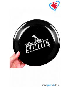Petsworld Dog Frisbee Dog Toy - Black