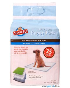 Spotty Puppy Training Pads (25 Pads)