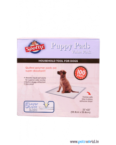 Spotty Puppy Training Pads (100 Pads)