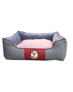 Petsworld Stylish Rectangular Bed For Dogs Small