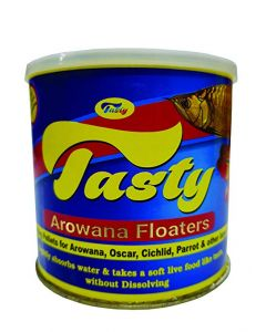 Tasty Arowana Floaters Fish Food 200 ml Canister