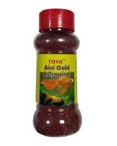 Toya Aini Gold & Tropical Fish Food 100 Gms