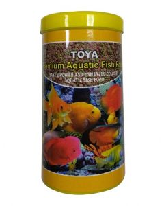 Toya Premium Aquatic Fish Food 125 Gms