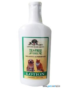 Tea Tree Oil Lotion For Dogs And Cats 100ml