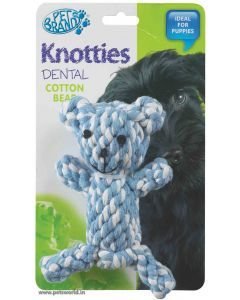 Pet Brands Knotty Teddy Bear Dog Toy
