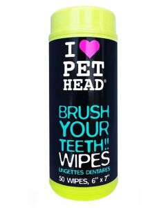 Pet Head Brush Your Teeth Wipes for Dogs 50 Wipes