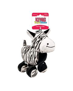 Kong TenniShoes Zebra Dog Toy Small