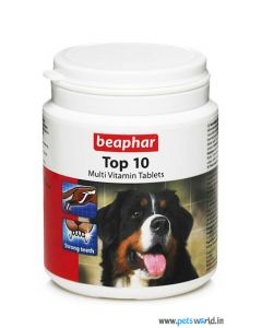 Beaphar Top 10 Multi Vitamin Supplements For Dogs 160 tabs
