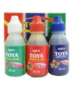 Toya Aquarium Medicine 3 In 1 Pack