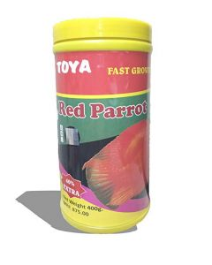 Toya Red Parrot Fish Food 400 Gms