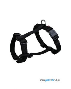 Trixie Dog Classic H-Harness Medium 25mm (Black)