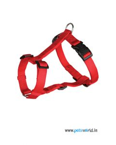 Trixie Dog Classic H-Harness Small 15mm (Red)