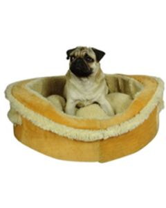 Petsworld Tub Dog Bed with Chew Proof Fabric Small