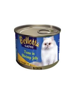 Bellotta Gatto Tuna in Shrimp Jelly Canned Cat Food 185 gm