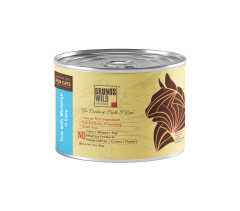 Brunos Wild Essentials- Tuna with Whitefish in Gravy 85gm