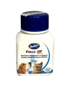 Venkys Pet Paws-Up Nutritional Supplement 30tabs