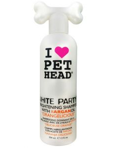 Pet Head White Party Brightening Shampoo for Dog 475 ml