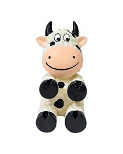 Kong Wiggie Cow Dog Toy Large