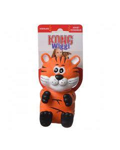 Kong Wiggi Tiger Small Dog Toy