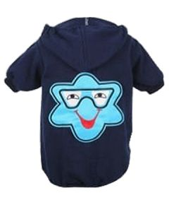 Petsworld Winter Patch Hoodie For Dogs Size 22 Blue