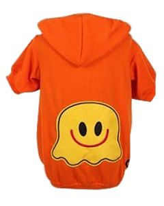 Petsworld Winter Patch Hoodie For Dogs Size 12 Orange