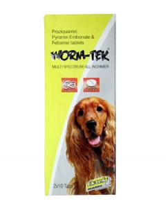All4Pets Wormtek Dewormer For Dog 20 Tablets