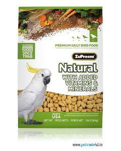 Zupreem Natural For Large Parrots 1.36 Kg