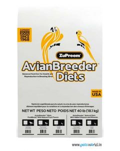 ZuPreem Avian Breeder Diet Fruit Blend for Medium Parrots 18.14 Kg