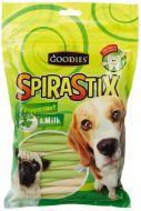 Goodies Dog Treats SpiraStix Peppermint And Milk 450 gm