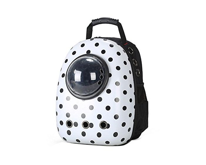 3cf84e5c297 Buy Petsworld Astronaut Pet Cat Dog Puppy Carrier Travel Bag Space Capsule  Backpack Breathable Dotted-Petsworld India