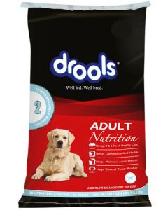 DROOLS Daily Nutrition Adult Chicken And Vegetable 15kg.