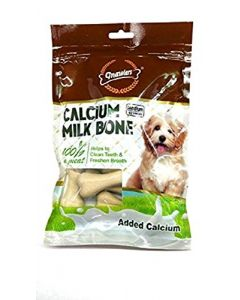 "Gnawlers Dog Treats 3"" Calcium Milk Bone 12 pcs"