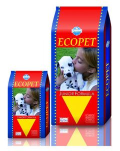 Ecopet Junior Formula Dog Food 15 Kg