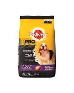Pedigree Pro Adult Small Breed Dog Food 1.2 Kg