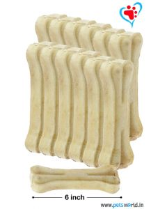 Bone Candy Rawhide Bones For Dogs 6 inch 1 Kg