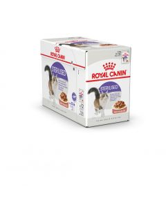 Royal Canin Gravy Sterilised Gravy Cat Food 1.02 Kg