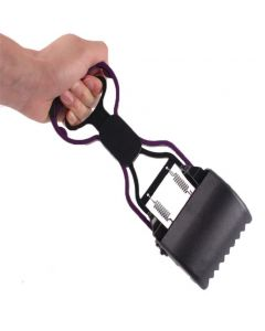 Petsworld Pooper Scooper for Pet Waste-Backyard Pickups 28 cm Lenght Black