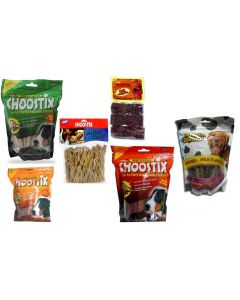 Dog Treats & Munchies Super Value Offer
