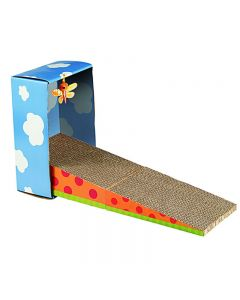 Petstages Kitty Cat Scratching Ramp with Cat Toy