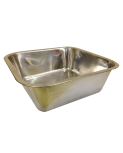 Pets Empire Square Dog Feeding Bowl Polished 2800 ml