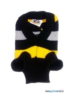 All4Pets Dog Sweater Black Size 10
