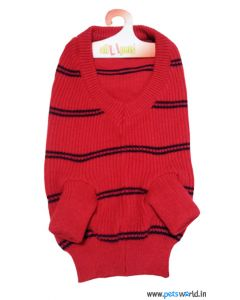 All4Pets Dog Sweater Red Size 18