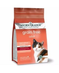 Arden Grange Adult Cat Salmon Food 400 Gms