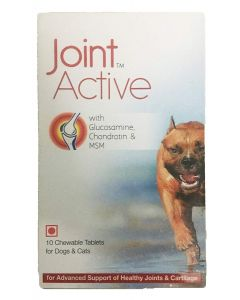All4pets Joint Active Tablet for Dogs and Cats 10 tab
