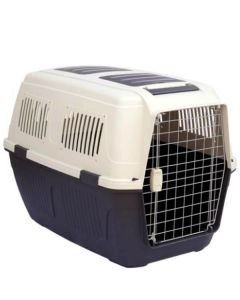 All4Pets Fibre Flight Cage Puppy Small LxWxH - 59.5x40x40 cm